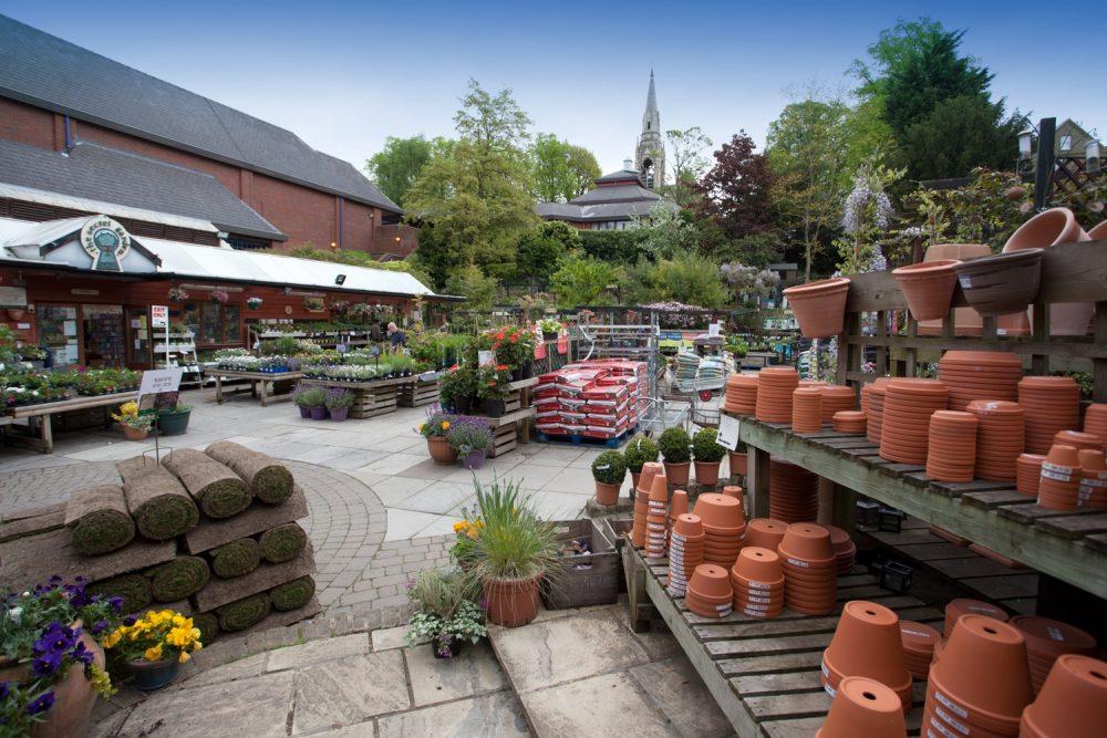 garden centre veiw